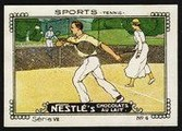 Nestle Serie VII No 04 Sports Tennis Schoko