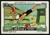 Nestle Serie VII No 05 Sports Natation Schoko