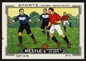 Nestle Serie VII No 06 Sports Football Association Schoko
