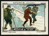 Nestle Serie VII No 10 Sports Alpinisme Schoko