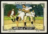 Nestle Serie VII No 12 Sports Lutte Schoko