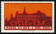 Paris 1928 Exposition Cycle TSF